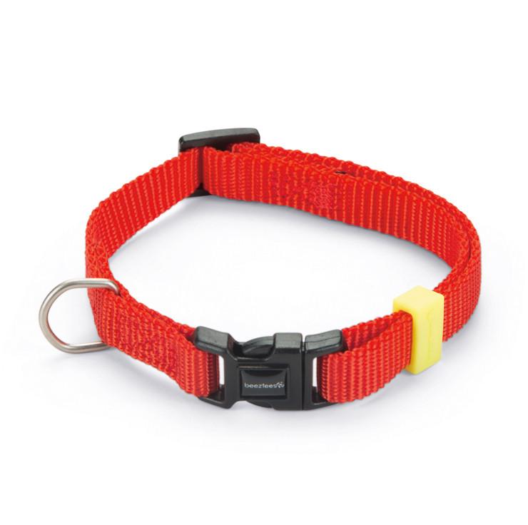 Beeztees Halsband Uni Rood