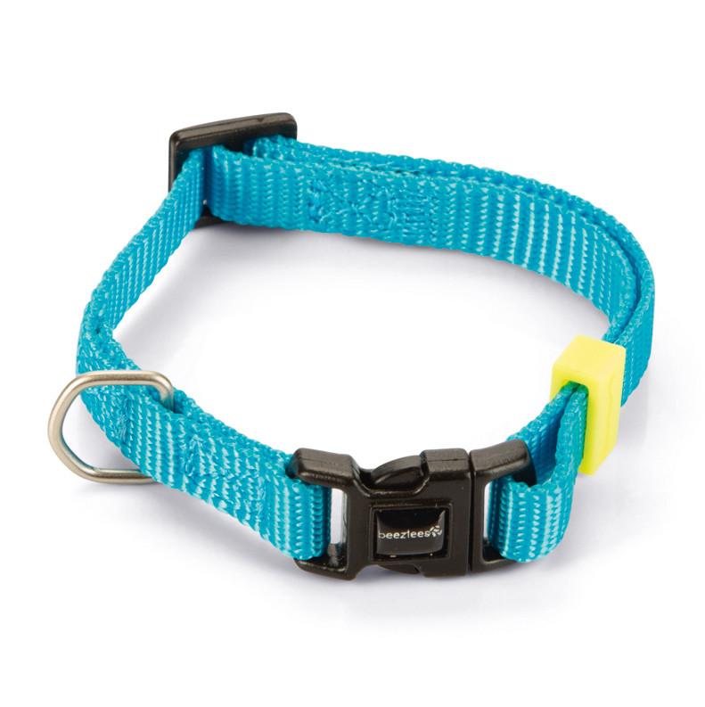 Beeztees Halsband Uni Lichtblauw