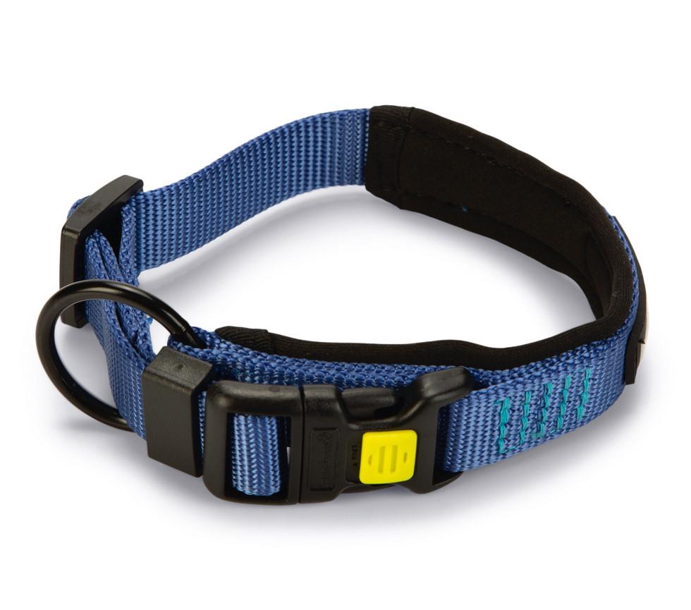 Beeztees Premium Halsband Parinca Blauw