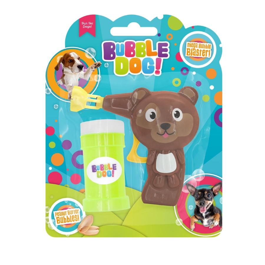 Bubble Dog Bellenblaas Pistool Handmatig Pindakaassmaak