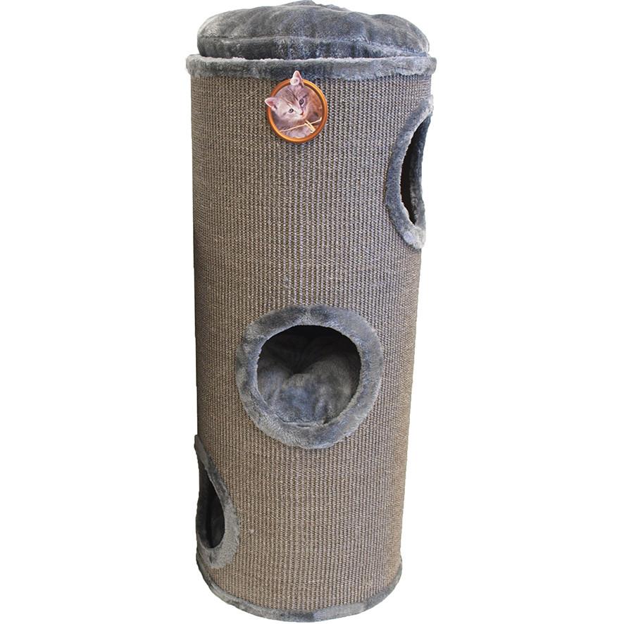 Krabton sisal 3-gaats grijs 100 cm