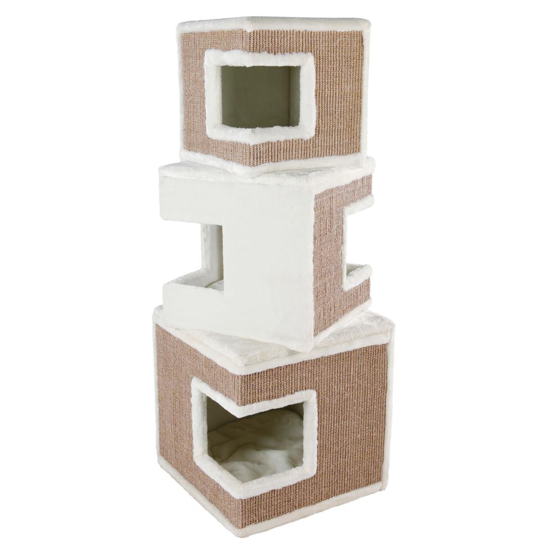 TRIXIE Cat Tower Lilo wit/bruin 123 cm