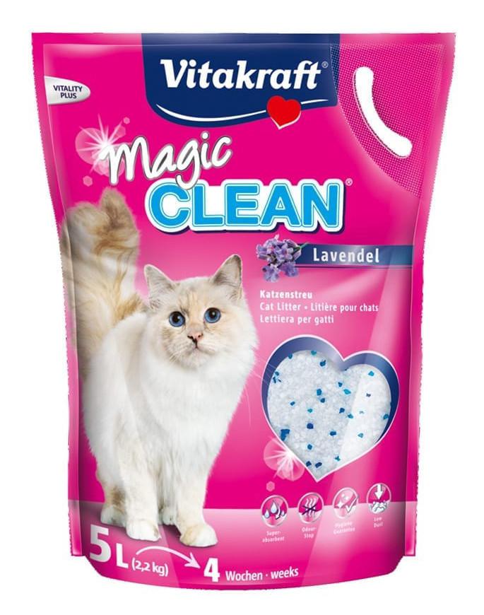 Magic Clean kattenbakvulling met Lavendel 5 ltr