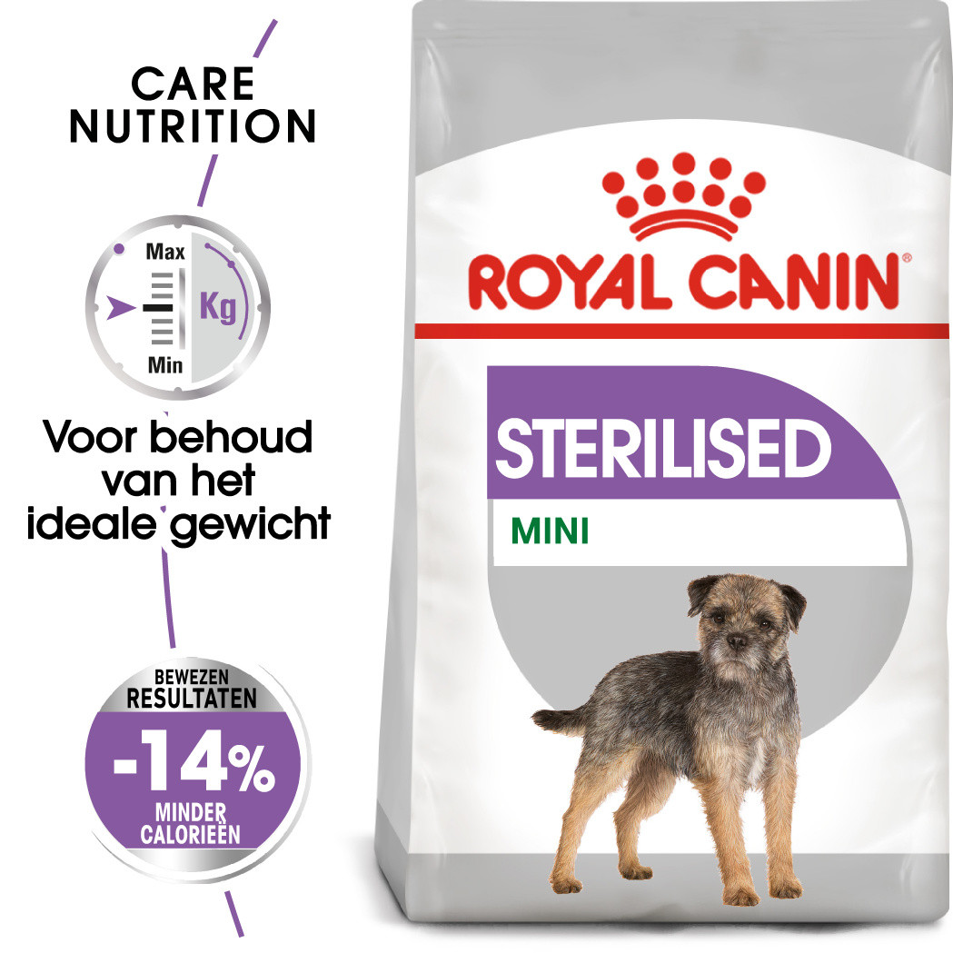 Royal Canin hondenvoer Sterilised Mini 3 kg