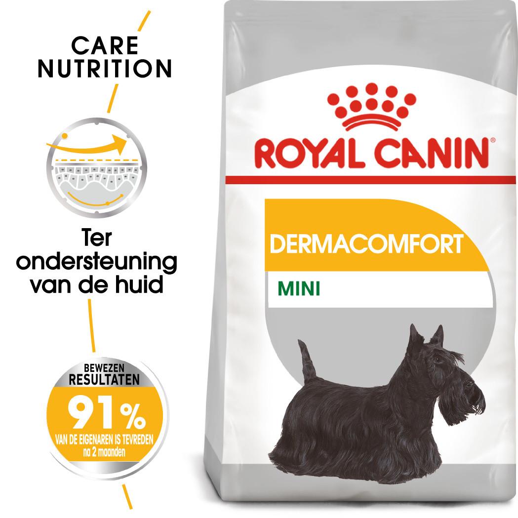 Royal Canin hondenvoer Derma-comfort  Mini 3 kg