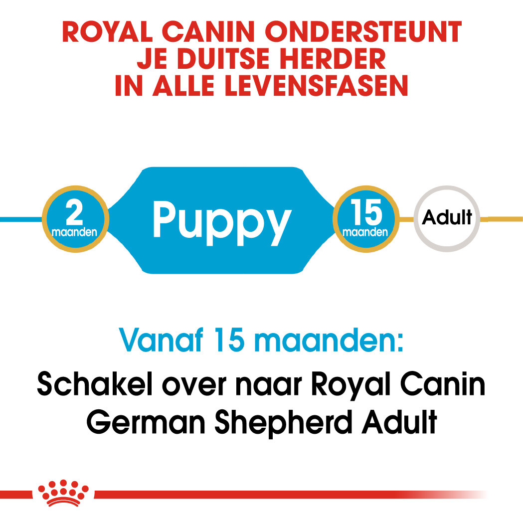 Royal Canin hondenvoer German Shepherd Puppy 12 kg
