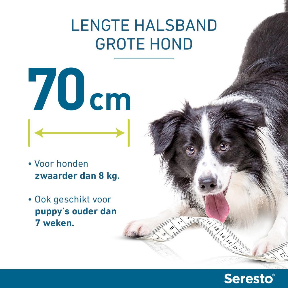 Seresto band voor grote honden
