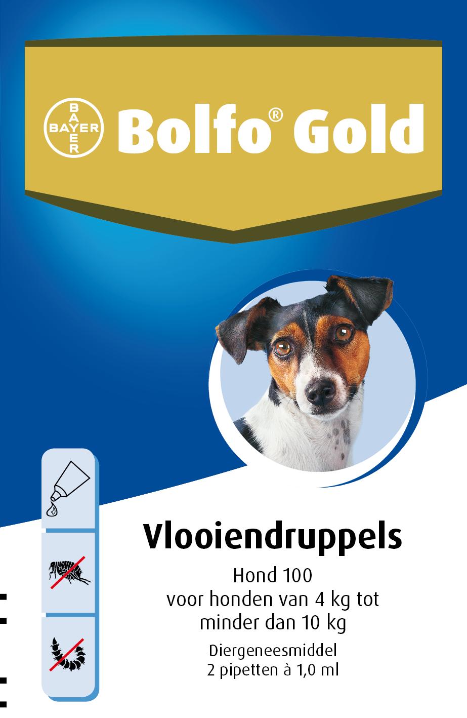 Bolfo Gold 100 vlooiendruppels <br>2 pipetten