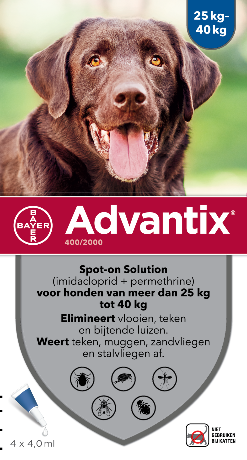 Advantix 400 4 pipetten