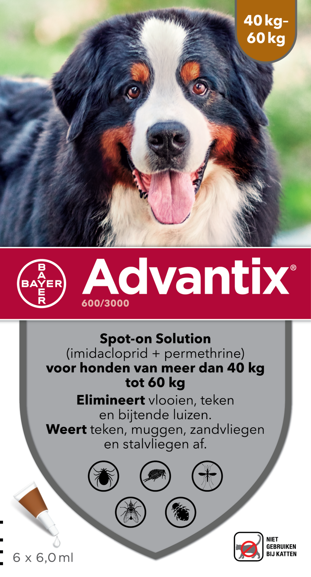 Advantix 600 6 pipetten