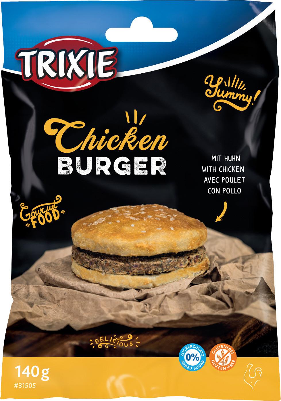 TRIXIE Chicken Burger <br>9 cm
