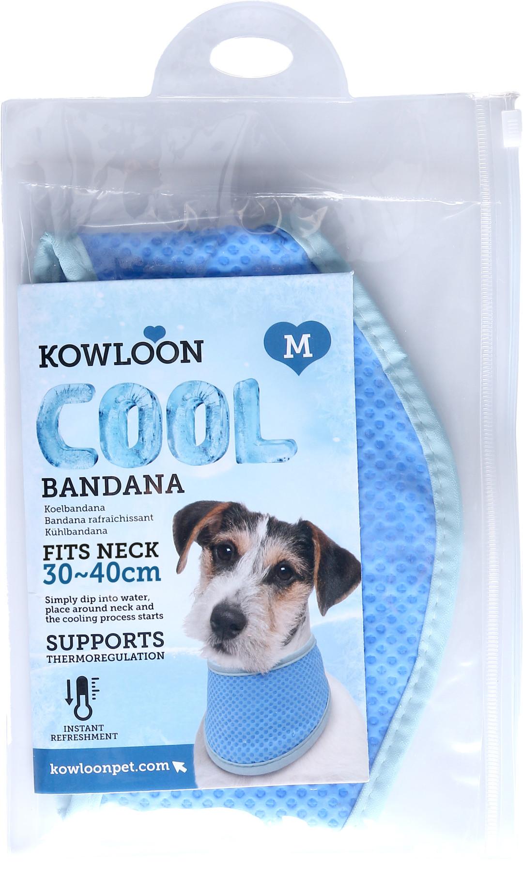 Kowloon Cool Bandana PVA Blauw