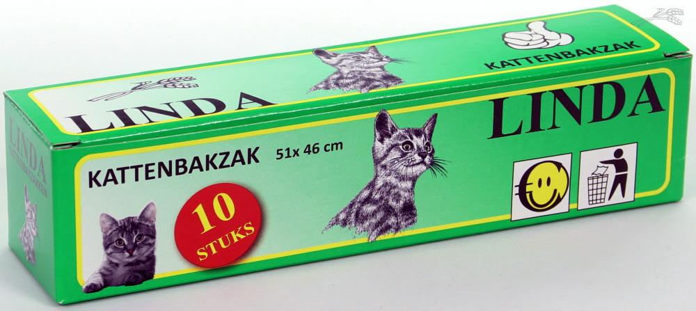 Linda Kattenbakzak <br>10 st