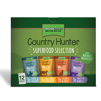 Natures Menu Country Hunter Multipack <br>12 x 85 gr