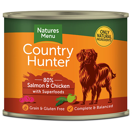 Natures Menu hondenvoer Country Hunter Salmon 600 gr