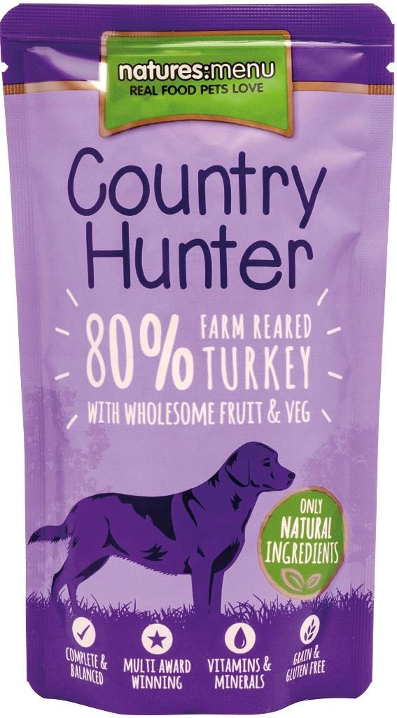 Natures Menu hondenvoer Country Hunter Turkey 150 gr