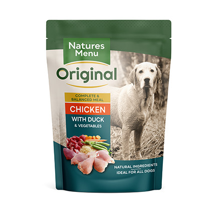 Natures Menu hondenvoer Chicken & Duck 300 gr