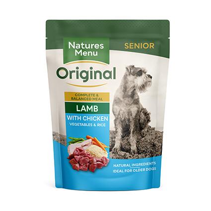 Natures Menu hondenvoer Senior Lamb 300 gr