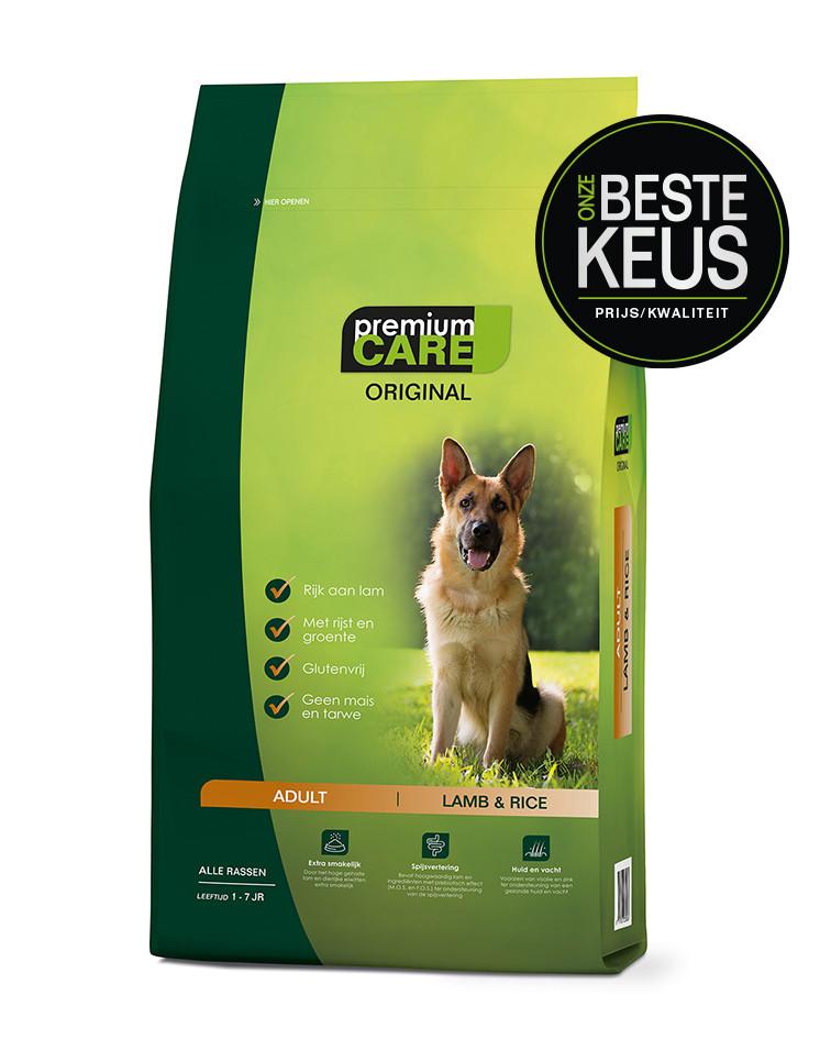 Premium Care Original Adult Lamb & Rice 3 kg