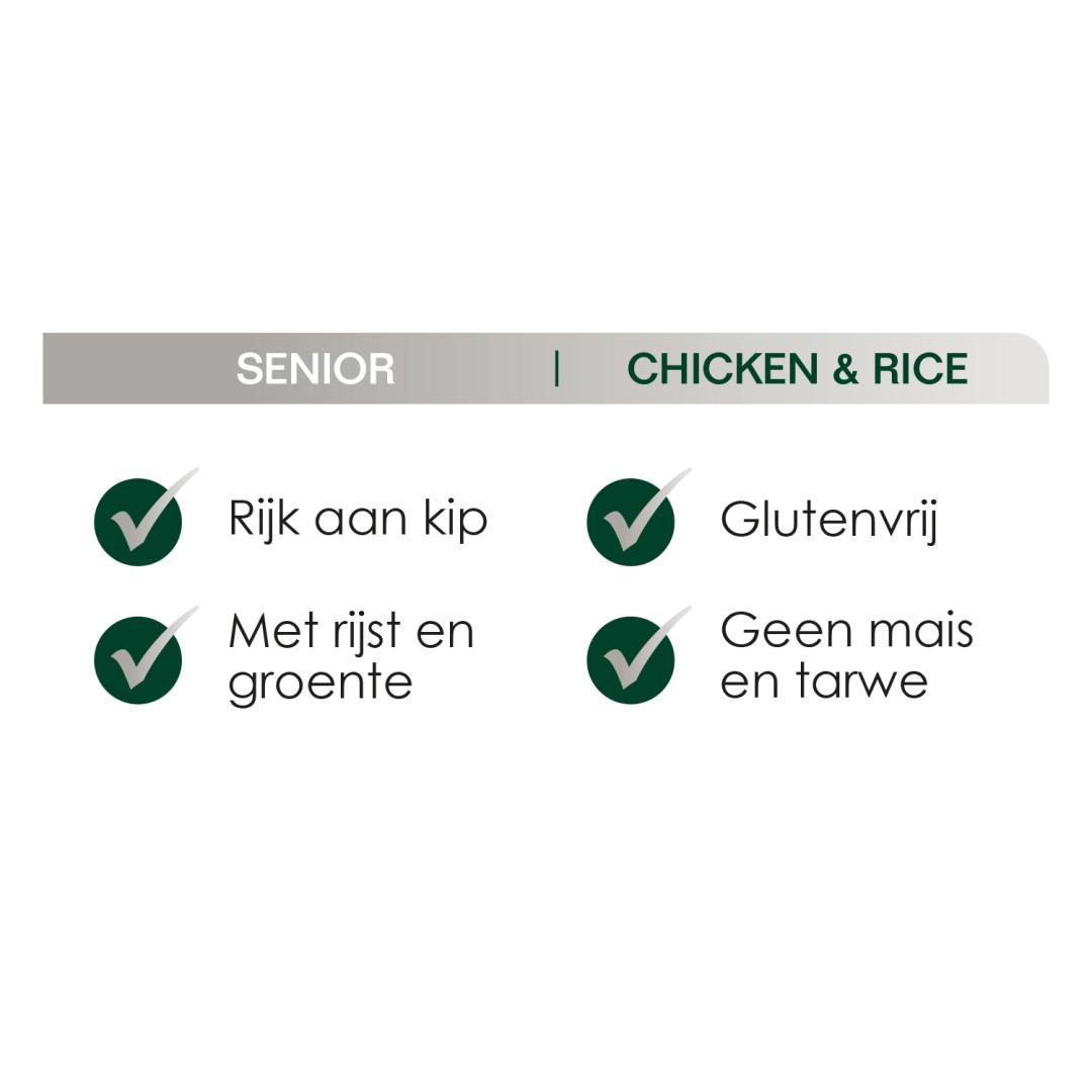 Premium Care Original Senior Chicken & Rice <br>3 kg
