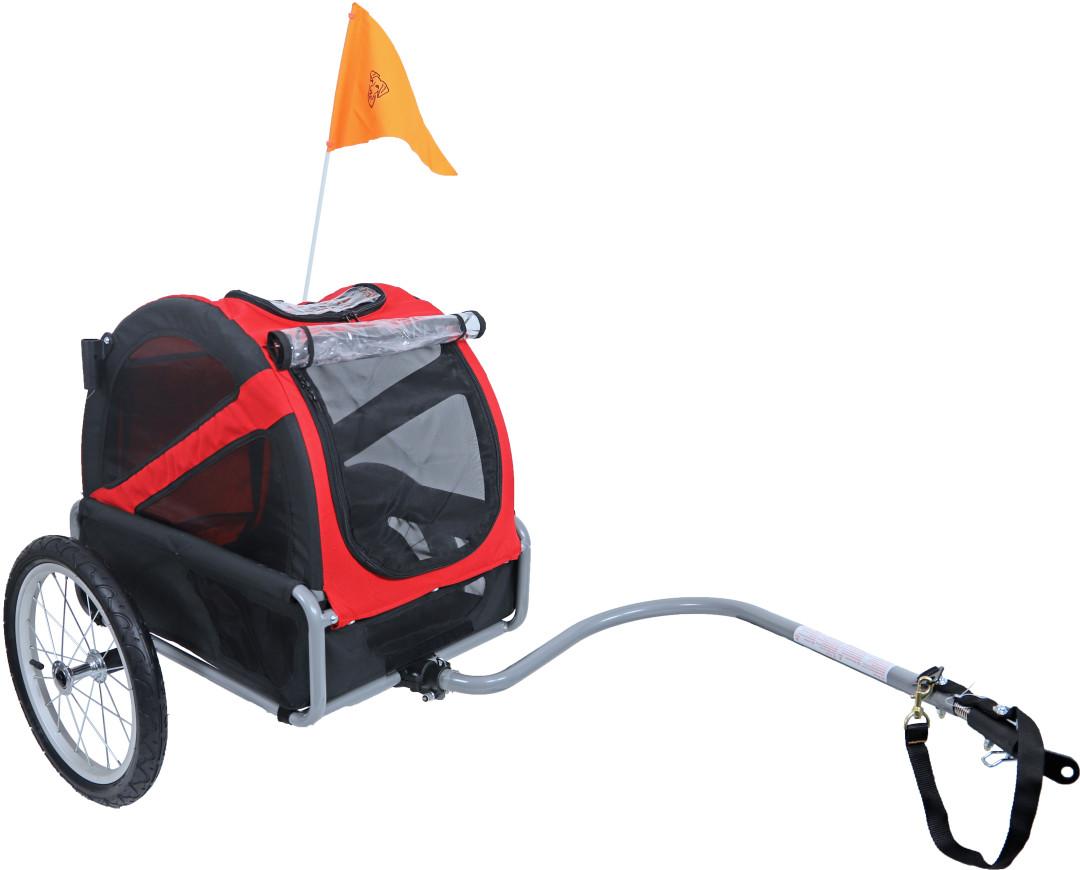 DoggyRide Fietskar Mini 20 Rood/Zwart