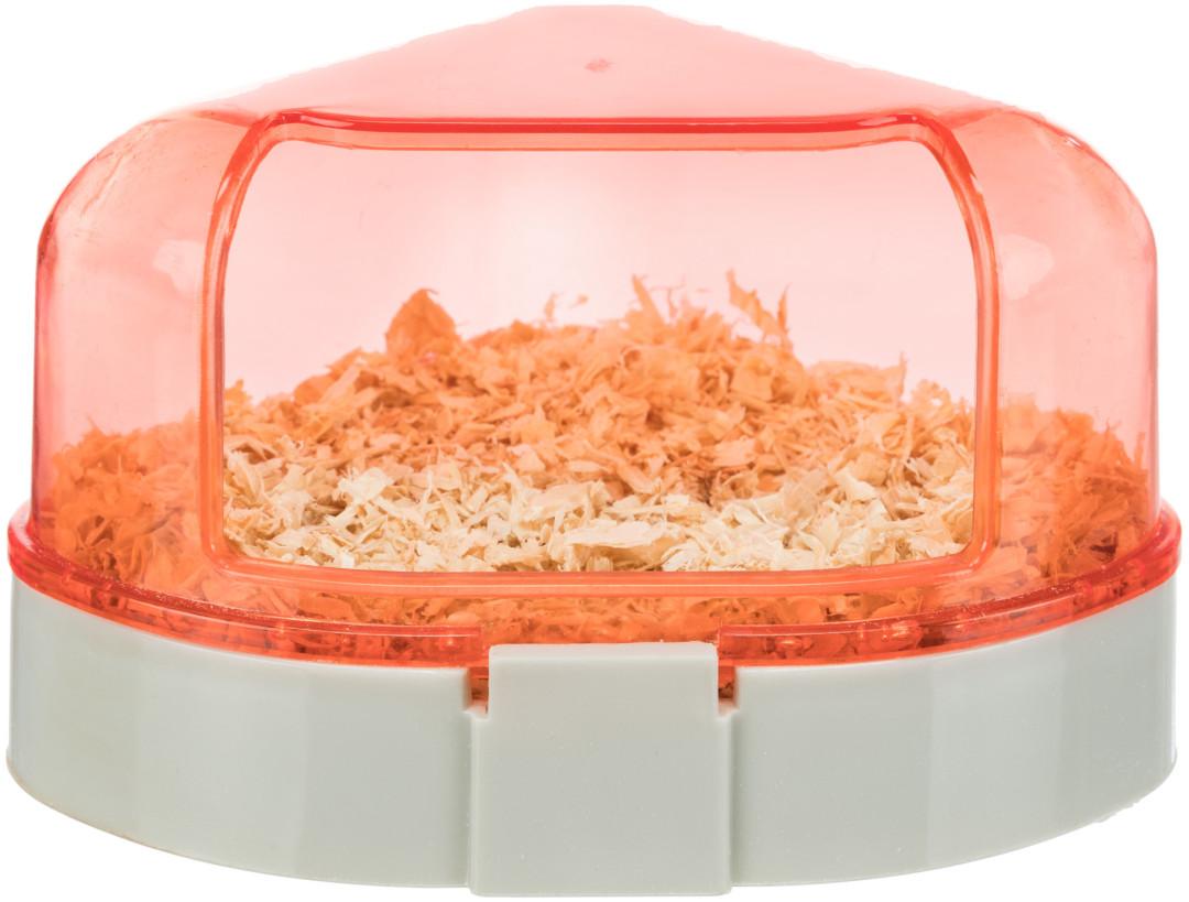 Trixie hoektoilet met dak assorti