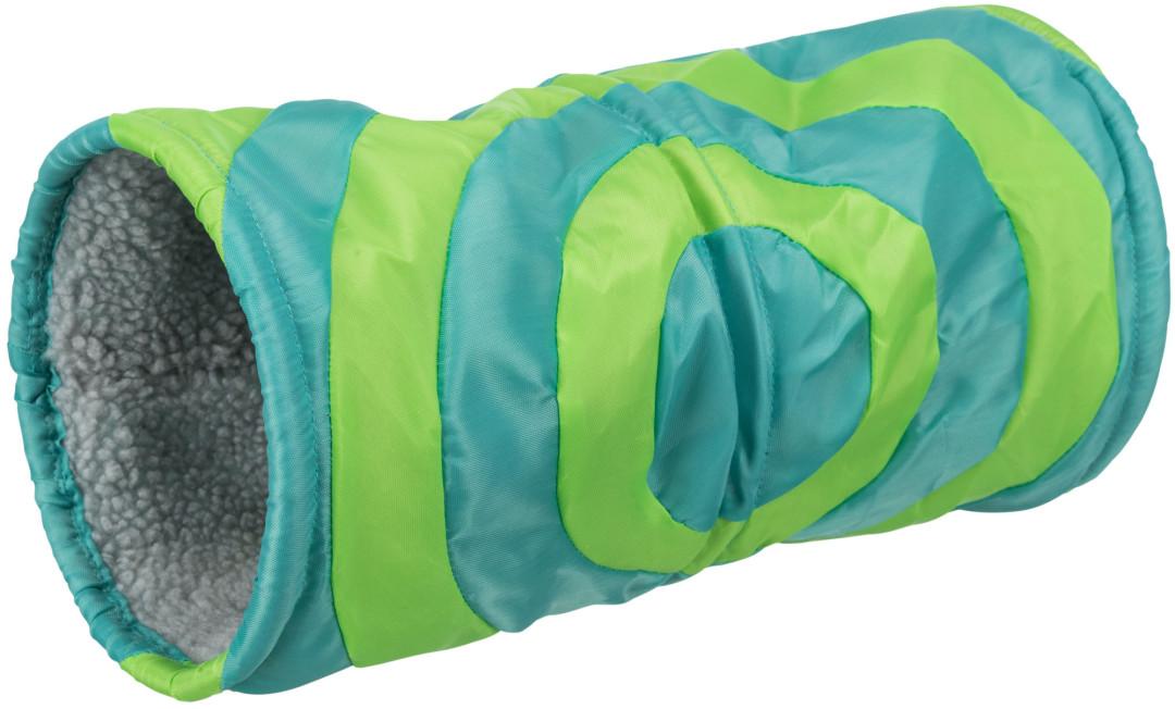 Trixie Relax-Tunnel cavia/konijn grijs/groen