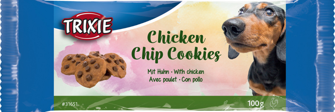 TRIXIE Chicken Chip Cookies 100 gr