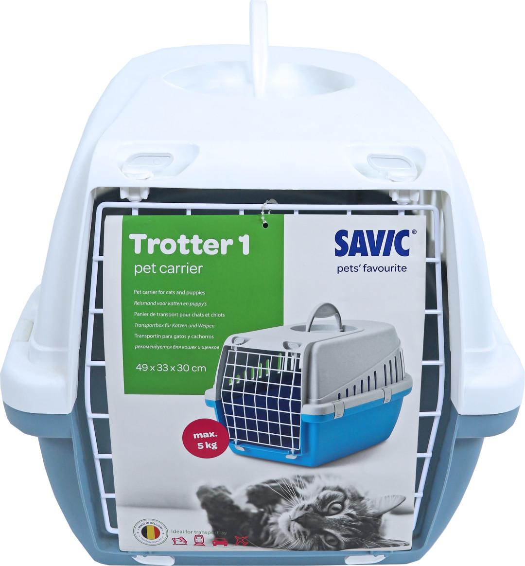 Savic reismand<br> Trotter 1 earthblue/wit