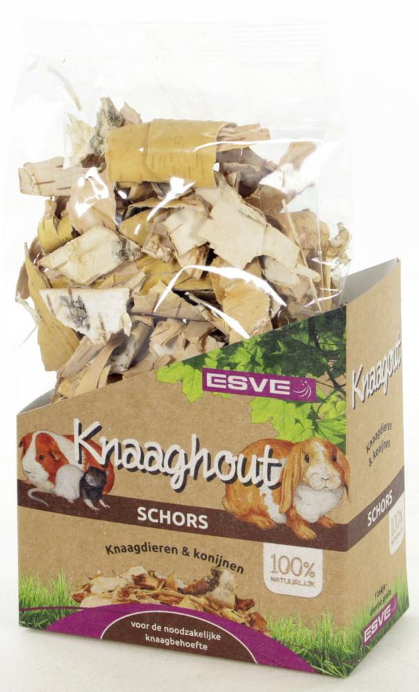 ESVE Knaaghout Schors Knaagdier 120 gr