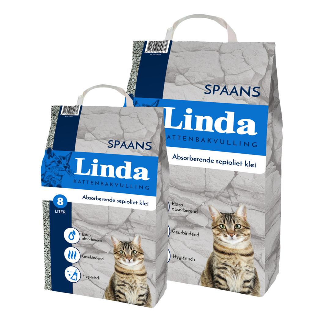 Linda kattenbakvulling Spaans (Blauw) 20 ltr
