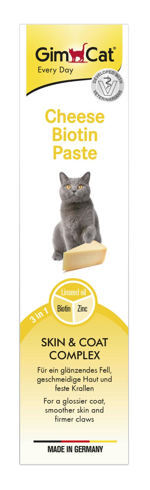 GimCat Cheese Biotin Pasta 200 gr