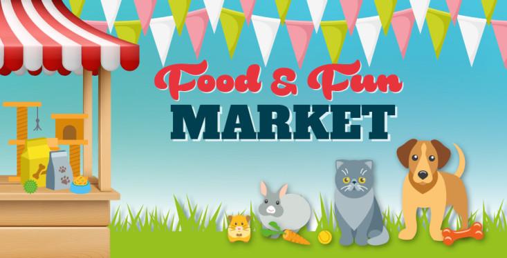 3 okt: Food & Fun Market (11:00 - 16:00)