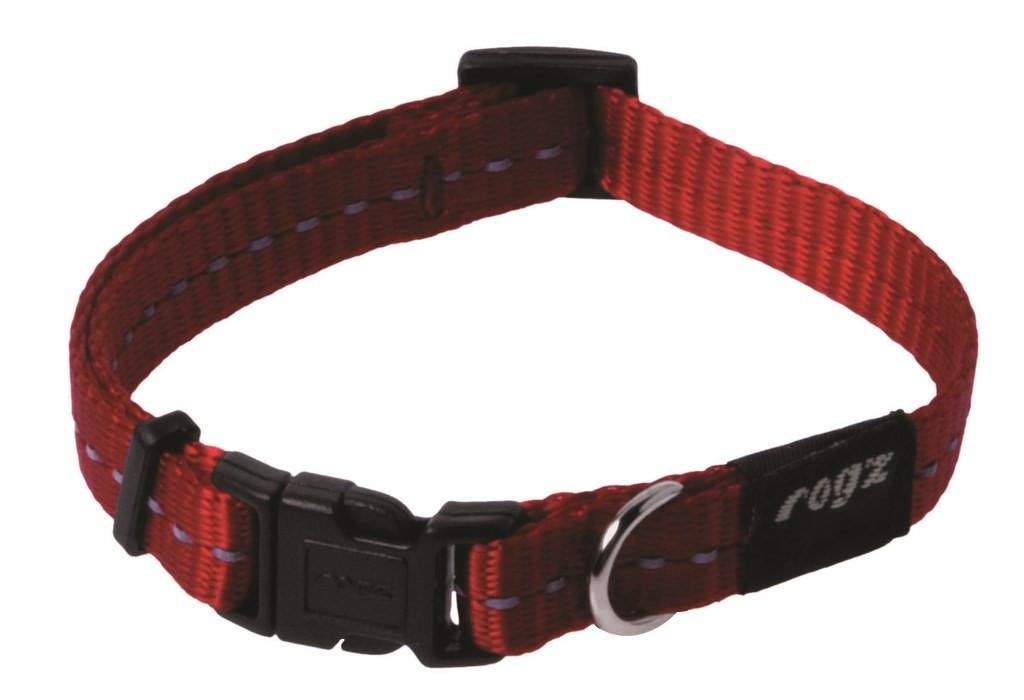 Rogz Beltz Utility halsband red