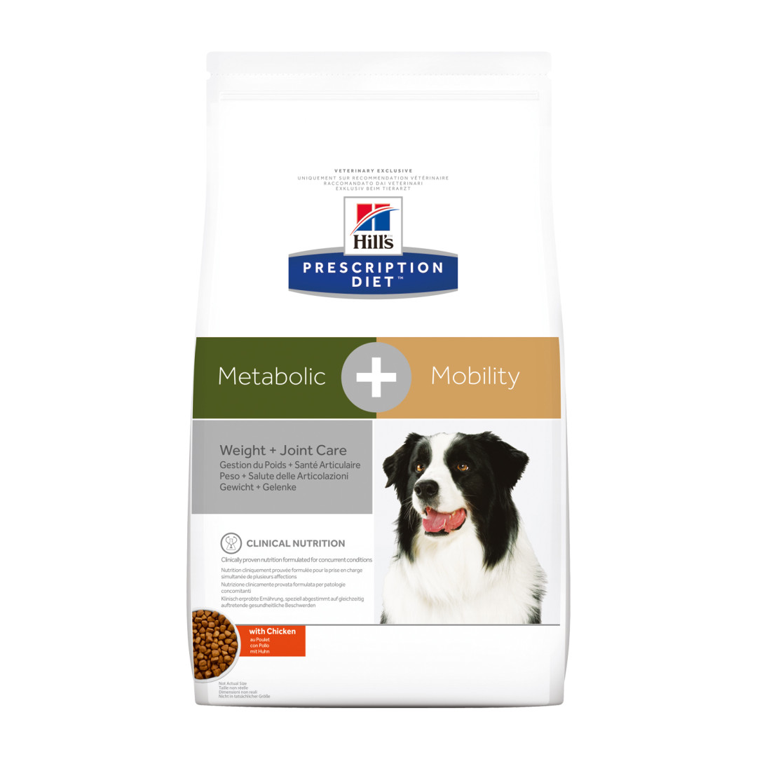 Hill's Prescription Diet hondenvoer Metabolic + Mobility 4 kg